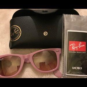 Ray-Ban pink sunglasses